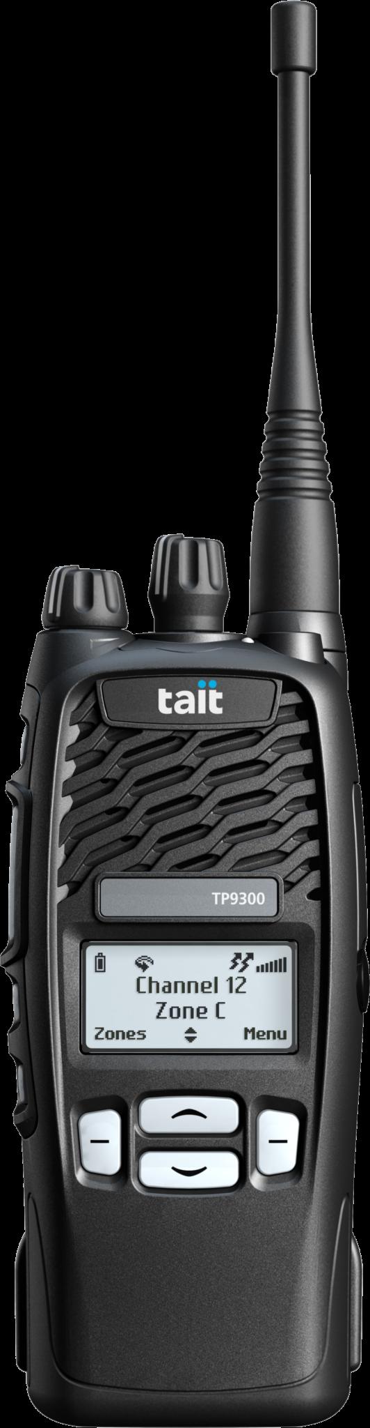 TP9355 black Tait Handfunkgerät