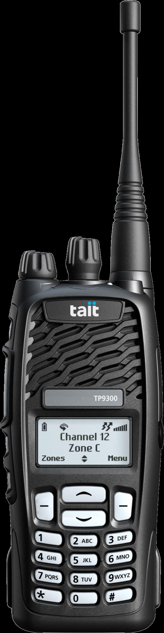 Tait TP9360 Handfunkgerät mit 16-Tasten Bedienfeld