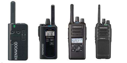 PMR446 Geräte von Kenwood