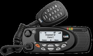 TM9355 und Handmikrofon mit integrierter Tastatur