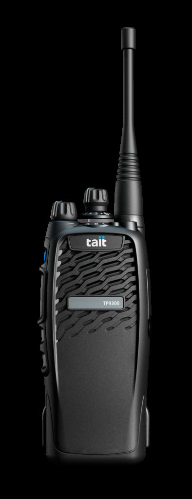 Funkgerät der Marke Tait, Modell TP9300, ohne Anzeige und Tasten